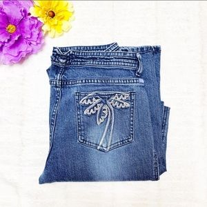 Pacsun 2000's Lilly Palm Tree Pocket  Jeans 9